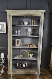 shabby chic french grey glass display cabinet sold items the