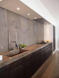 Modern Interior Design Kitchen Best 25 Concrete Kitchen Ideas On Pinterest Minimalist Open