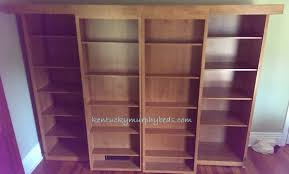 Murphy Bed Bookshelf Living And Guest Rooms Kentucky Murphy Beds