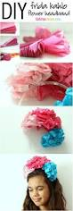 diy frida kahlo flower crown for kids entertainment tips