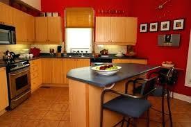 peinture cuisine bois meuble cuisine en bois globr co