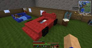minecraft working car race car bed minecraft