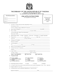 tanzania visa for us citizens usa requirements for americans
