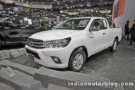 hilux 2017 toyota hilux revo to gain a new entry level model