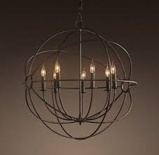 Chandelier Metal Sphere Chandelier Foter