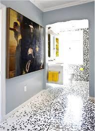 unusual modern design mosaic bathroom tiles featuring blue white