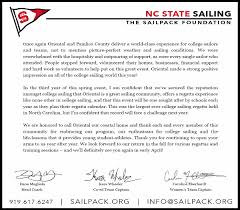 thanksgiving letter for hospitality letters sailpack regatta gratitude and thanks letters to the