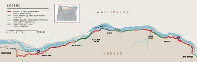 Columbia River Map Gorge Vr An Immersive Journey