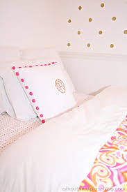 Gold Polka Dot Bedding Diy Gold Polka Dots Using Decals A Thoughtful Place