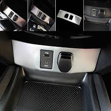 qashqai nissan interior yaquicka car interior cigarette lighter button switch cover frame