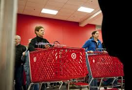 target employees black friday black friday first in line shoppers race into ann arbor area