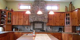 Surewood Custom CabinetsOur Work Surewood Custom Cabinets - Rustic cherry kitchen cabinets