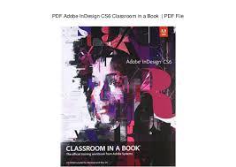 Seeking Book Pdf Adobe Indesign Cs6 Classroom In A Book Pdf File