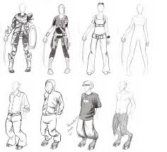learning to draw clothes by kaileighblue on deviantart