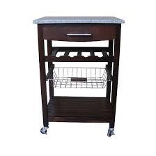 target kitchen island cart granite top kitchen cart target