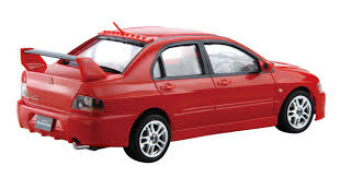 mitsubishi lancer evolution 9 fujimi car easy 04 mitsubishi lancer evolution ix 1 24 scale kit