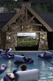 Backyard Movie Theatre by Scenic Screenings U2014 The Backyard Room