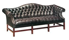 chippendale sofa tufted chippendale sofa classic leatherclassic leather