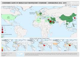 World Map Korea Who Middle East Respiratory Syndrome Coronavirus Mers Cov Maps