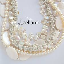 chunky pearl crystal necklace images Best large crystal statement necklace products on wanelo jpg