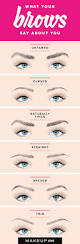 How To Shape Eyebrows With Concealer What Your Brows Say About You