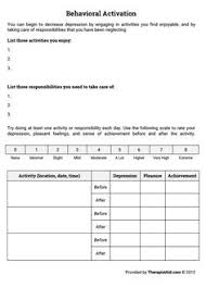 free worksheets and printables to use with teens struggling with