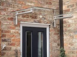 Building Awning Over Door 7 Best Glass Door Canopy Images On Pinterest Door Canopy Front