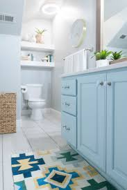 best images about bathroom design pinterest white subway kids bathroom remodel with pops light turquoise yellow and green