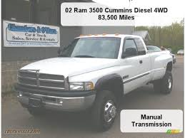 2002 dodge ram 3500 slt quad cab 4x4 dually in bright white