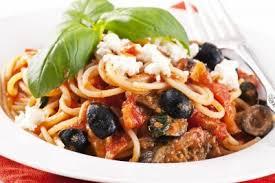 cuisine sicilienne spaghetti à la sicilienne recette pâtes alimentaires