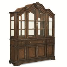 legacy classic pemberleigh dining buffet and hutch with glass