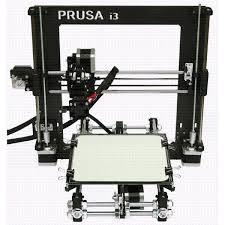 Preferidos Reprap Prusa Mendel I3 Prusa I3 Rework 3D Printer ABS Plastic  #NK61