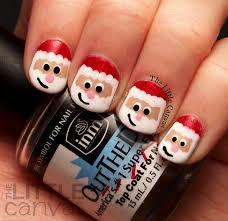 santa claus nails images