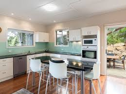 kitchen staging ideas cylinder sands holiday house point lookout north stradbroke island