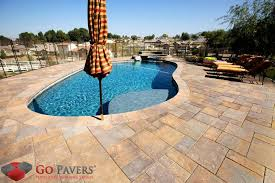 get the best pool deck pavers installation service go pavers