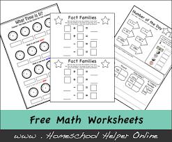 worksheets homeschool helper online