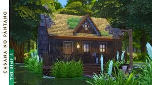 building a swamp cabin the sims 4 youtube