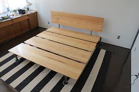 Diy Platform Bed Frame Full by Twin Metal Bed Frame As For Elegant How To Make A Platform Bed