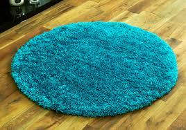Thick Pile Rug Small To Large Rugs 5cm High Pile Soft Very Thick Circle Round