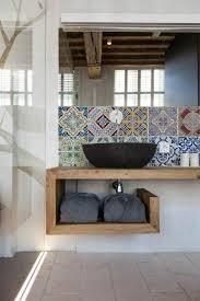 badezimmer waschbeckenunterschrank die besten 25 badezimmer unterschrank holz ideen auf