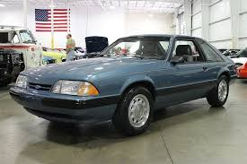 fox ford mustang for sale medium shadow blue 1989 ford mustang for sale mcg marketplace