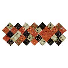 zig zag table runner cheeky wee pumpkins zig zag table runner kit sku ck101 missouri