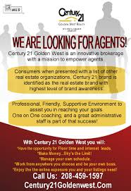 century 21 golden west agents wanted caldwell idaho real estate