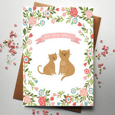 mum you u0027re puurfect cat lover mother u0027s day card cute cat and