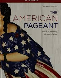 the american pageant a history of the american people ap edition