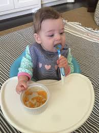 Chair For Baby To Sit Up Starting Solids Quick U0026 Easy Homemade Baby Food Recipes Honey