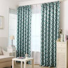 Teal Patterned Curtains Curtain Cheap Drapes For Contemporary Living Room Decor Ideas