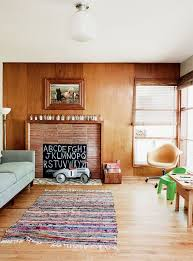 holly and ryan s vintage minimal green tour apartment therapy child proof a fireplace