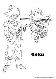 dragon ball z coloring in pages get this dragon ball z coloring