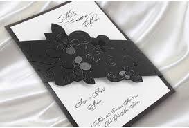 faire part mariage original pas cher faire part de mariage original fleurs noir